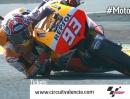 Marc Marquez und sein Ellbogen - geile Idee vom Circuit Valencia