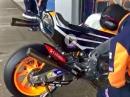 Marc Marquez WarmUp für privaten Jerez Test von HRC