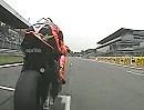 Marco Melandri onboard Monza (Italien) mit BMW S1000RR 2012