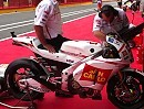 Marco Simoncellis Honda RC212V WarmUp mit Termignoni