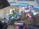 Marquez vs Jared Mees - Start Superprestigio Barcelona Dirt Track 2014