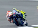 Marquez vs. Rossi Battle Silverstone