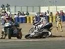 Massencrash in Le Mans - Stell Dir vor es ist Öl auf der Strecke und keiner bricht ab!