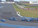 Massencrash: Letzte Runde, letzte Kurve - Suzuki-Kegeln: alle Neune