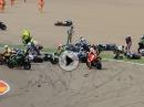 Massencrash STK 1000 Aragon 2016 - Niemand schlimm verletzt