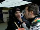 Maulschelle: Max Biaggi schlägt zu und verpasst Marco Melandri eine Backpfeiffe - AUA!