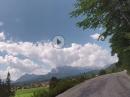 Mautstrasse Vorderriss nach Wallgau, bayrische Bilderbuchlandschaften