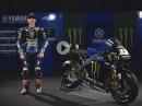 Maverick Vinales präsentiert Yamaha YZR M1 2019