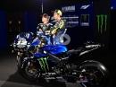 Maverick Vinales & Valentino Rossi Präsentation Yamaha YZR M1 MotoGP 2019