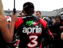 Max Biaggi 2012 Superbike World Champion mit Aprilia