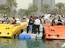Max Neukirchner mit 662 PS Speedboot in Qatar