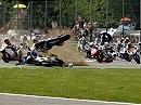 Max Neukirchner - schwerer Sturz in Monza - WSBK 2009