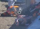 Mega Crash Marc Marquez, FP3, Jerez