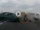 Mega Crash, mitten durch und sich nix anmerken lassen - Schutzengel