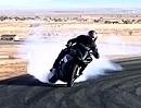 Mega Drift Bill Dixon - Extrem Quertreibing Yamaha R1 von Graves Motorsports