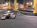 Mega Fun: Minibikes ballern in der Halle - Wie geil ist das denn