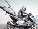 Mega Motorroller Yamaha Tmax 530 Hypermodified by Ludovic Lazareth