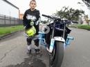 Dreikäsehoch: Megatalent Julian Stunter rockt das Bike wie ein Großer - Top