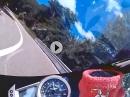 Mendel mit der Triumph Daytona 675 - Sound geil!