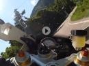 Mendelpass mit BMW S1000RR - schnell und save attackiert - Hammer