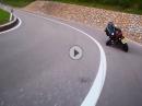 Mendelpass mit KTM 990 Super Duke