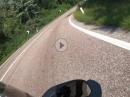 Mendelpass onboard mit Aprilia RS125, GoPro Hero 7 Black
