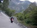 Mendelpass / Passo della Mendola (Italien) aufgenommen mit ContourHD 1080p