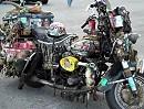 Messie Motorrad - und wer hats erfunden / 1975 Harley Davidson Electra Glide Rat Rod
