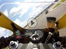 Mettet onboard Lap mit Honda SC50 12.08.2014 - 01:15:64