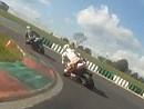 Mettet Circuit Jules Tacheny onboard Helmkamera mit Triumph 675