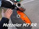 Metzeler Sportec M7 RR - Herbstlicher Reifentest by KurvenradiusTV