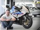 Michael Dunlop BMW Launch für die TT 2014 auf S1000RR