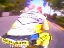 Michael Rutter TT Isle of Man onboard Ducati 916