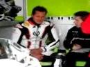 Michael Schumacher testet Ten Kate Honda Fireblade in Magny Cours