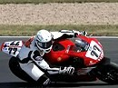 Michael Schumacher und Martin Bauer auf dem Nürburgring IDM 2008 - VideoBiker