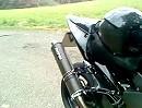 Micron Carbon Race + Hydratech Krümmer an Honda CBR 900