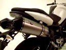 Micron Delta Sport exhausts for Triumph Street Triple