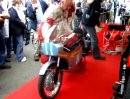 Mike Hailwoods 4-Cylinder Honda RC 173 at Goodwood 2008