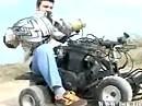 Mini Quad mit Mörder Motor - 1100ccm und 137 munteren Peessen