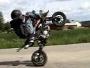 Mit Qualm kann jeder! Minicross Stuntriding geht auch ohne Leistung geil - der Junge hats drauf