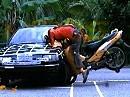 MIROS 1st Motorcycle Outdoor Crash Test MMC0001