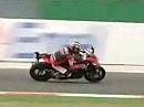 Misano (Italien) onboard Runde mit Alex Hofmann auf Aprilia RSV4 - 05.09.2009