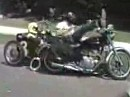 Motorradunfälle, Mißgeschicke / Crashes kleine, grosse, teilweise schmerzhafte - wenn das Leben scheisse läuft