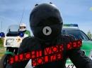 Mit 250km/h Flucht vor Polizei | Stinkefinger auf Nummernschild uvm. - Motorrad Nachrichten