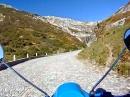 Mit 7 PS über den alten Gotthardpass - Vespa PX125 entschleunigte Highlights