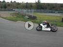 Mit dem Superbike auf der Kartbahn (Harzring) ... Fun!