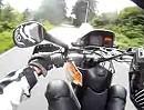 Mit der KTM LC4 640 wheelisieren