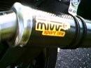 MIVV Auspuff an Yamaha FZ1 N ohne DB-Killer