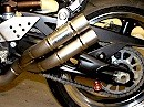 MIVV Double Gun Auspuffanlage Kawasaki Z1000 07-09