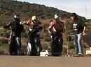 Moderner Motorrad Siebenkampf - Ideal für Motorradtreffen - Erfunden von Moto-Journal.fr - Bekloppt *rofl*
